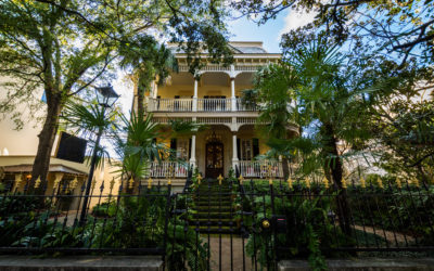 Forsyth Park Historic Home In Savannah