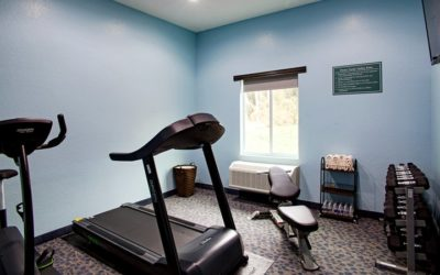 Workout Room At Iris Garden Inn
